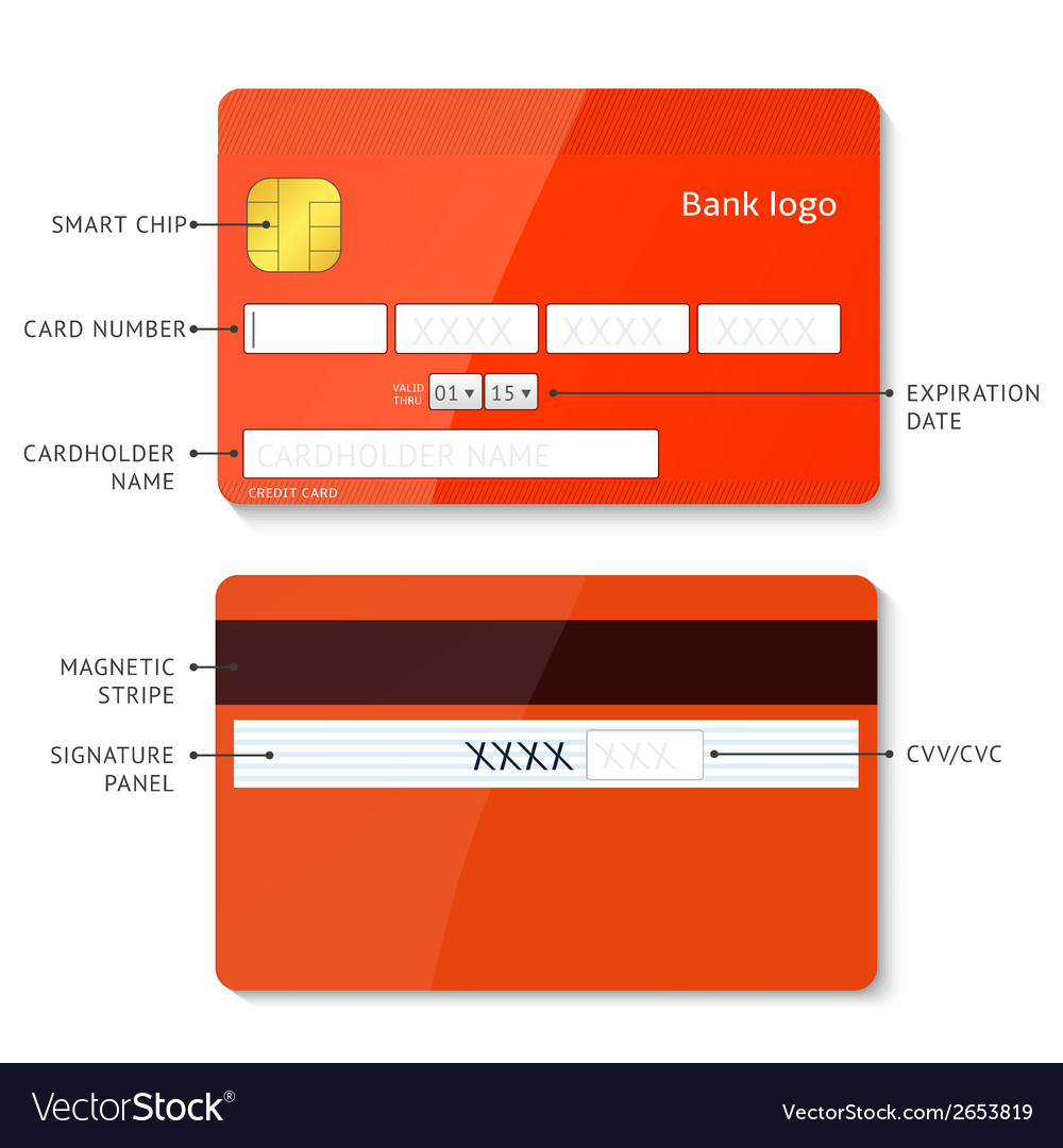 Credit card payment vector | Price: 1 Credit (USD $1)