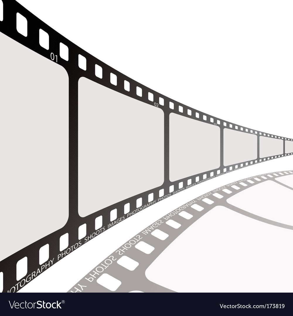 Film reel vector | Price: 1 Credit (USD $1)