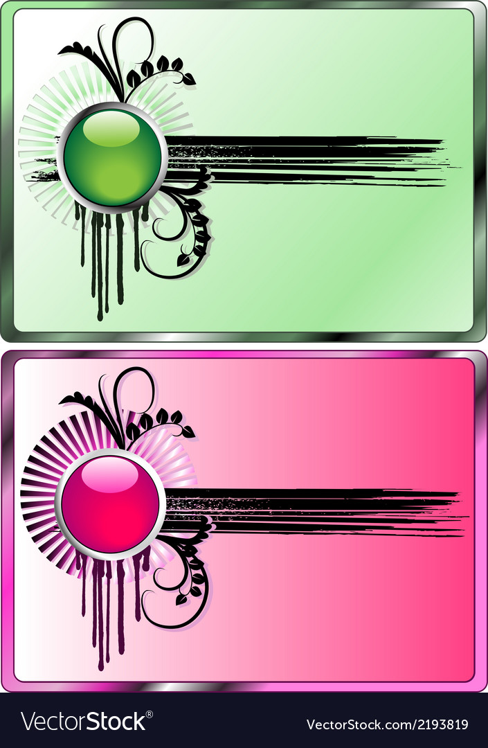 Grunge and hi-tech buttons vector | Price: 1 Credit (USD $1)