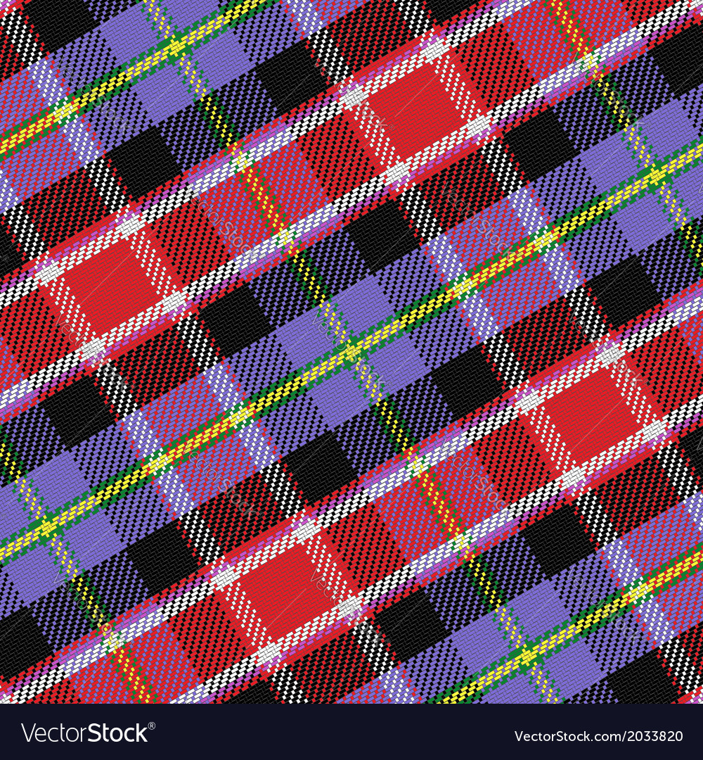 Seamless pattern scottish tartan colorado vector | Price: 1 Credit (USD $1)