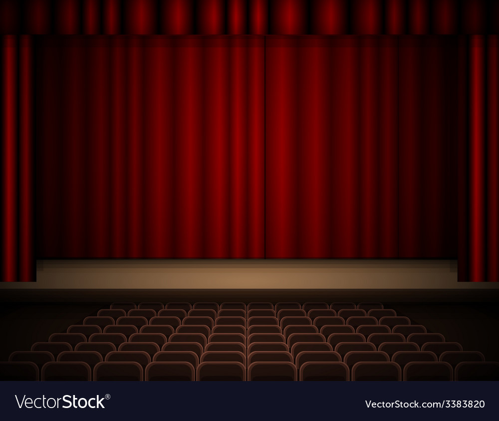 Theater interior vector | Price: 1 Credit (USD $1)