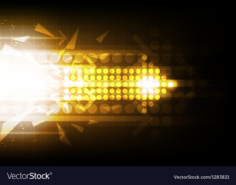 Arrow abstract background design vector | Price: 1 Credit (USD $1)