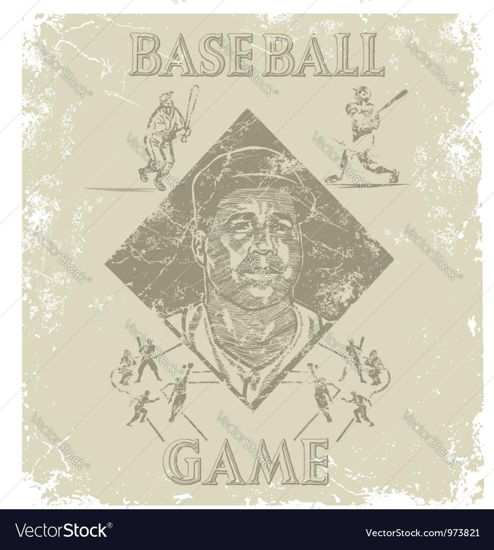Baseball coach vector | Price: 1 Credit (USD $1)