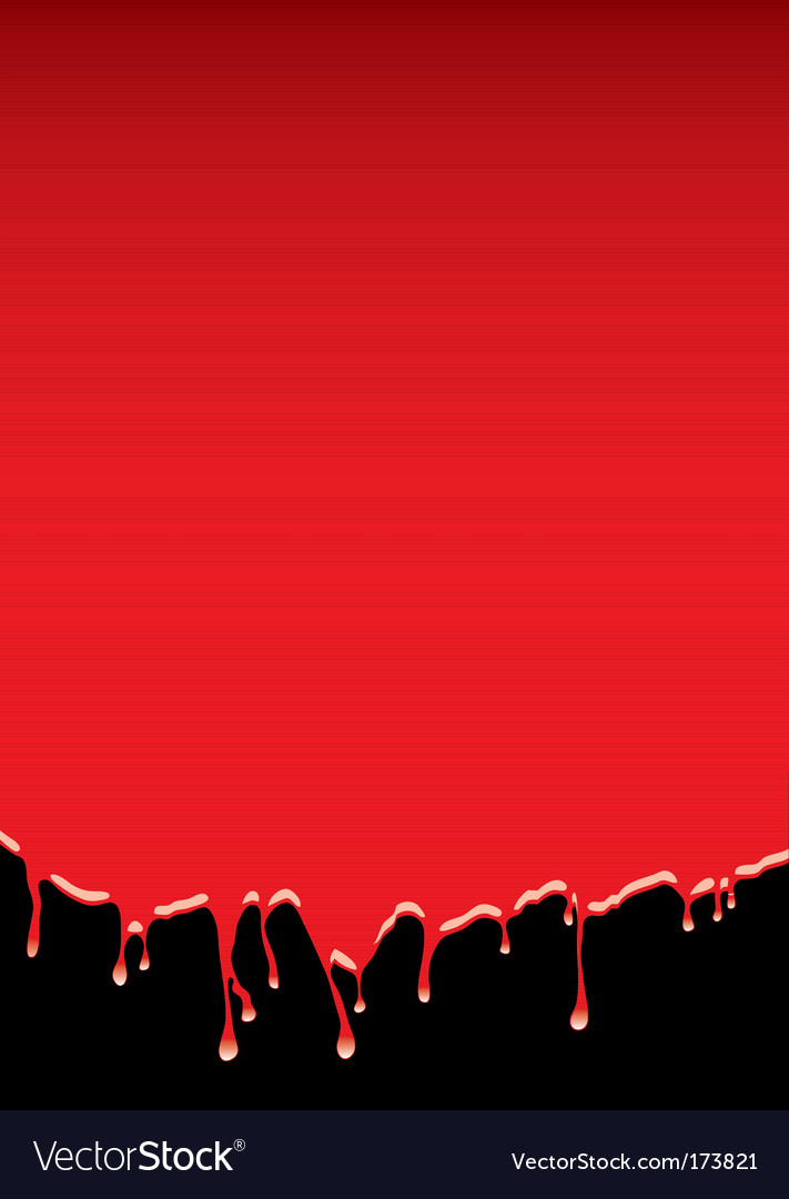 Blood dribble background vector   Price: 1 Credit (USD $1)