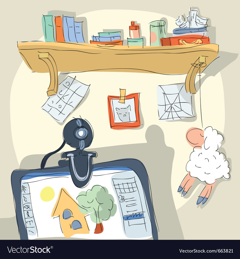 Office sketch vector   Price: 1 Credit (USD $1)