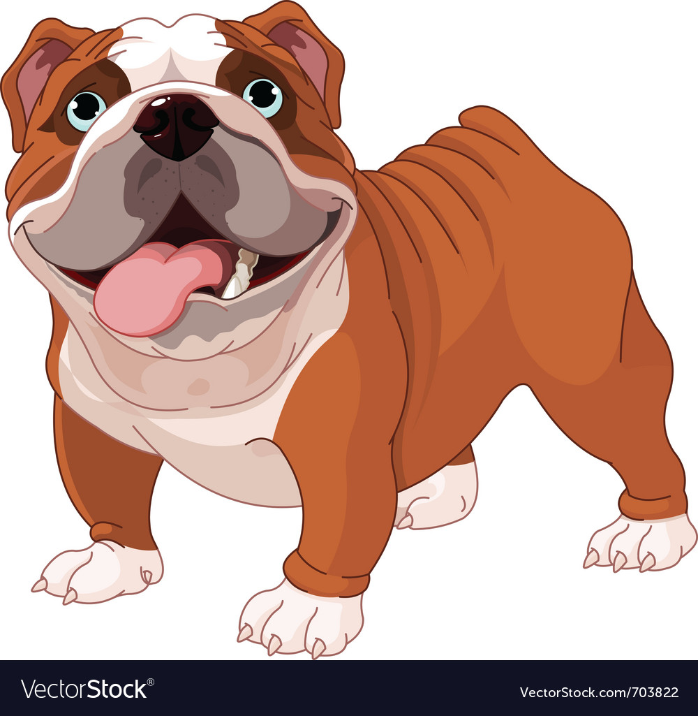 English bulldog vector | Price: 3 Credit (USD $3)