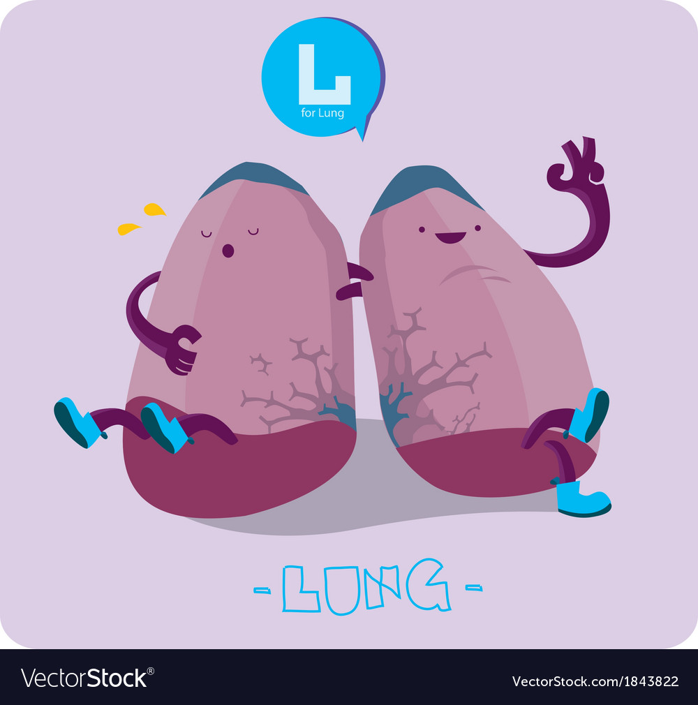 Lung character vector | Price: 1 Credit (USD $1)