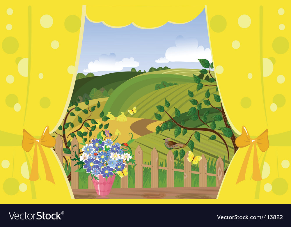 Outside lands vector | Price: 3 Credit (USD $3)