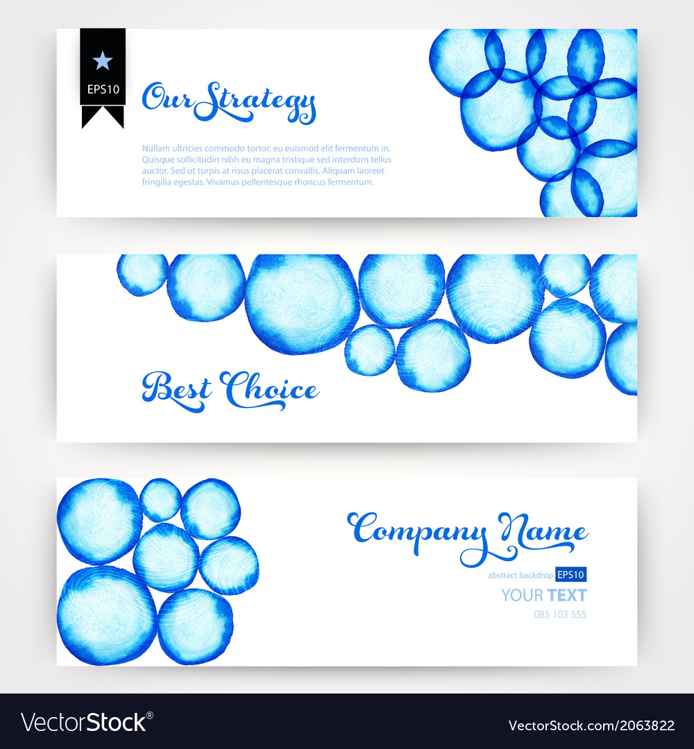 Round shapes watercolor ornament paints watercolor vector   Price: 1 Credit (USD $1)
