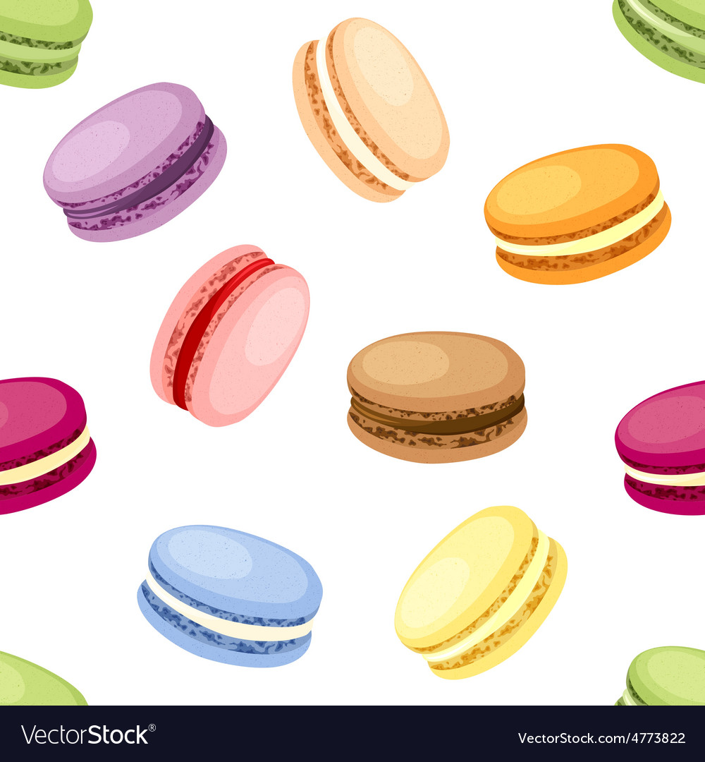 Set of macaroons vector | Price: 1 Credit (USD $1)