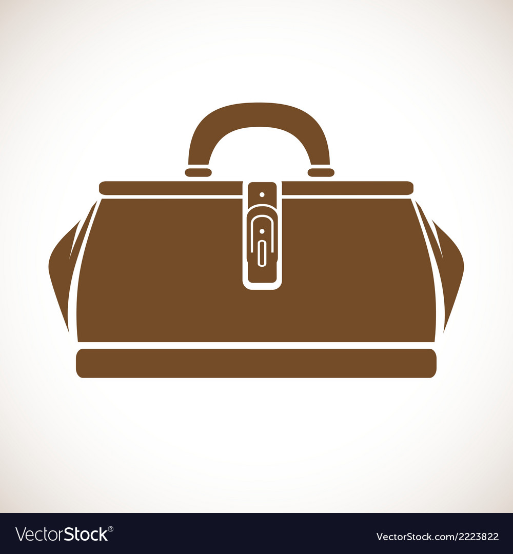 Vintage doctors bag vector | Price: 1 Credit (USD $1)