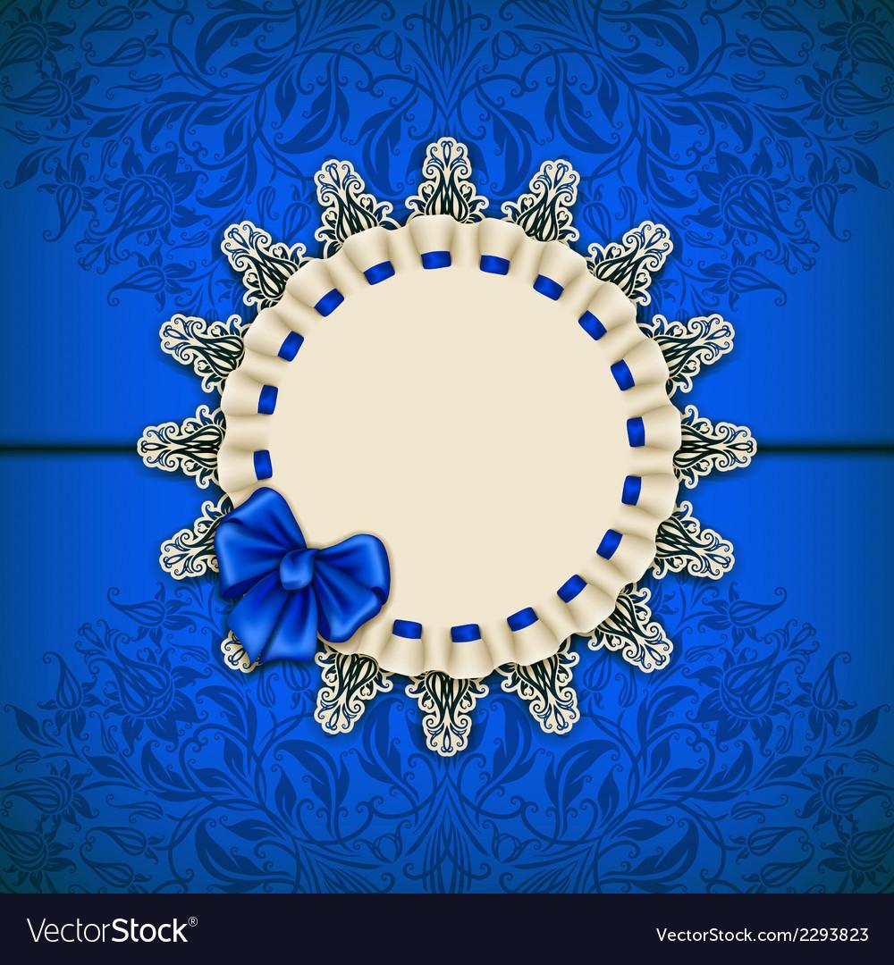 Elegant template for luxury invitation card vector | Price: 1 Credit (USD $1)