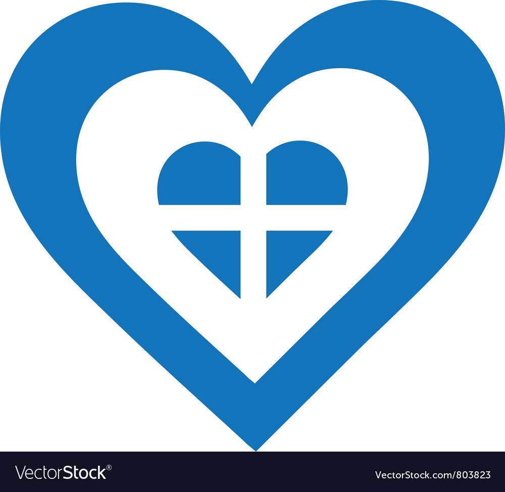 Greece heart vector | Price: 1 Credit (USD $1)