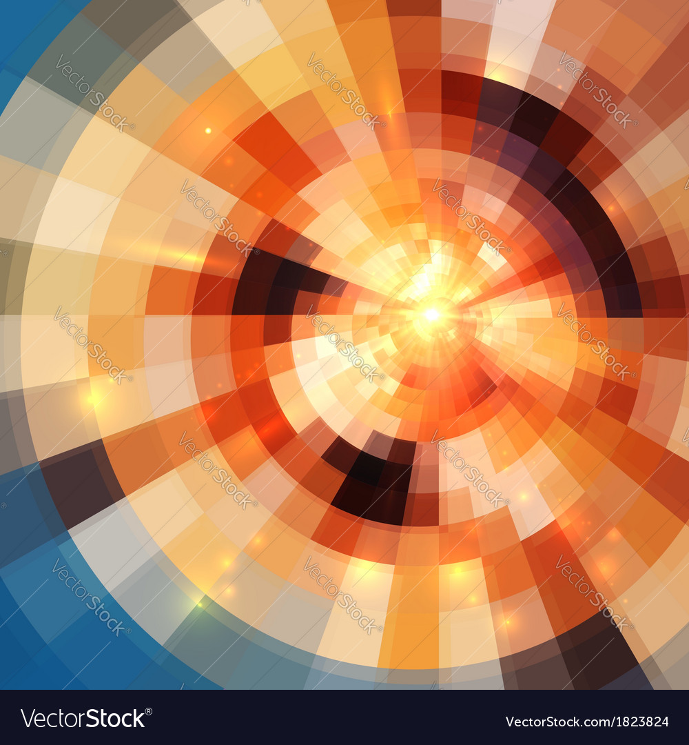 Abstract shining mosaic background vector | Price: 1 Credit (USD $1)