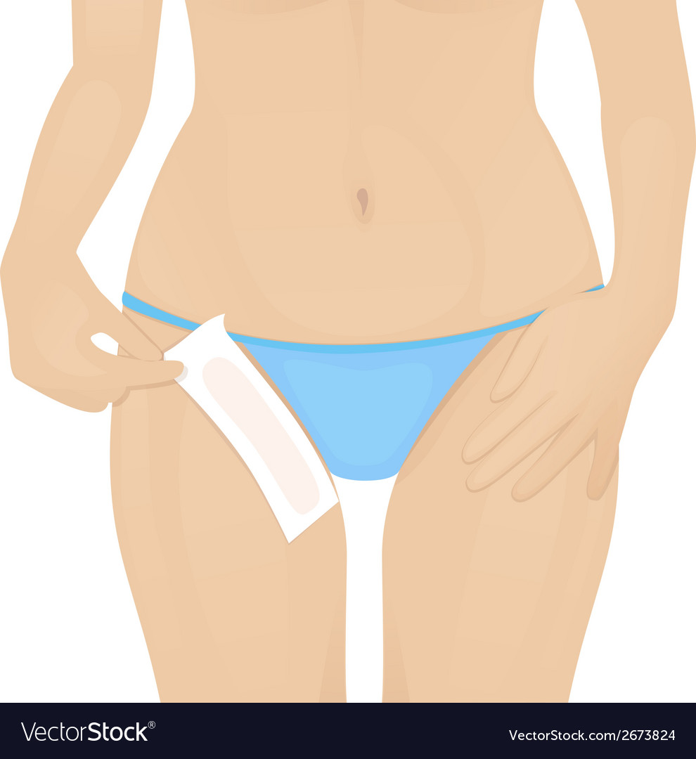 Hair removal vector | Price: 1 Credit (USD $1)