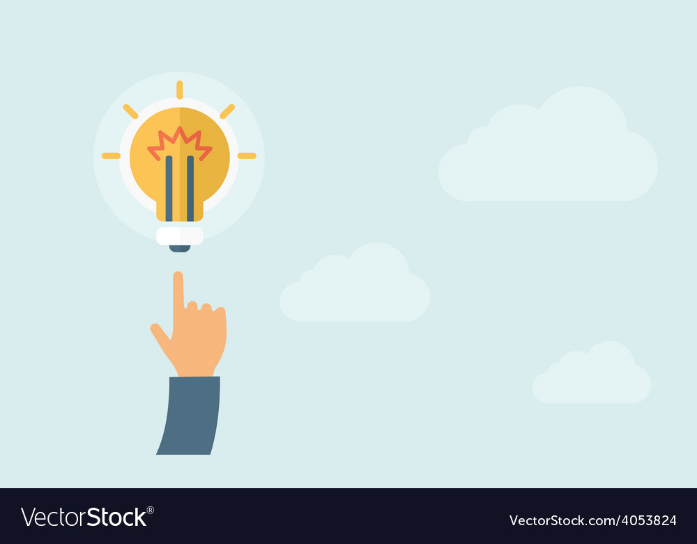Idea bulb vector | Price: 1 Credit (USD $1)