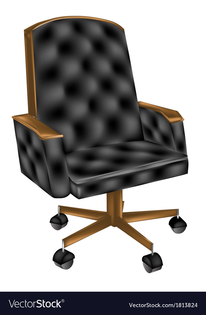 Leather office chair vector | Price: 1 Credit (USD $1)
