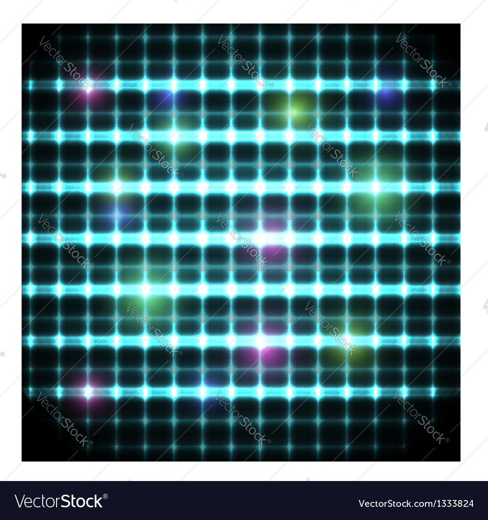 Modern background with neon grate eps10 vector | Price: 1 Credit (USD $1)