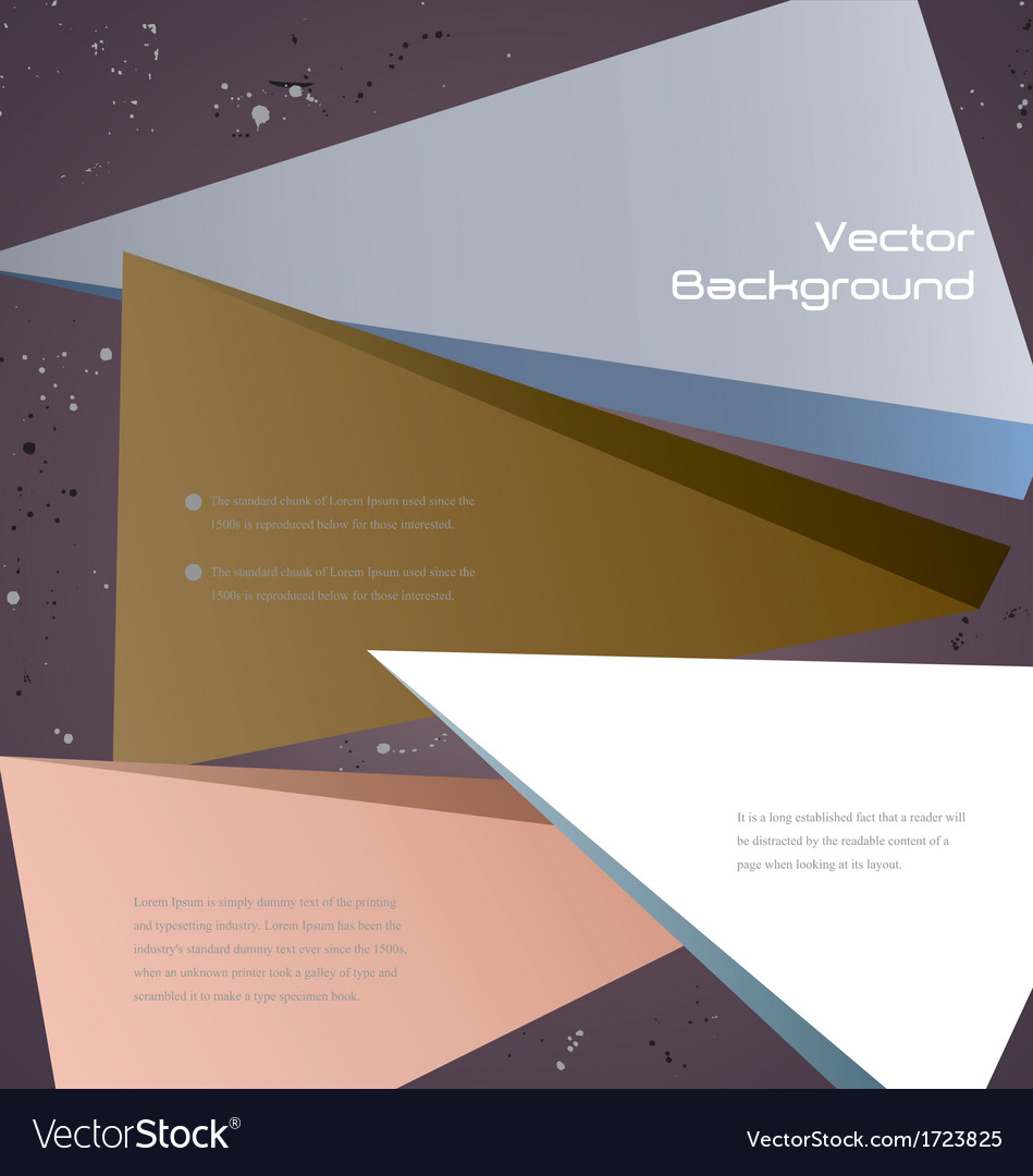 Abstract background template vector | Price: 1 Credit (USD $1)