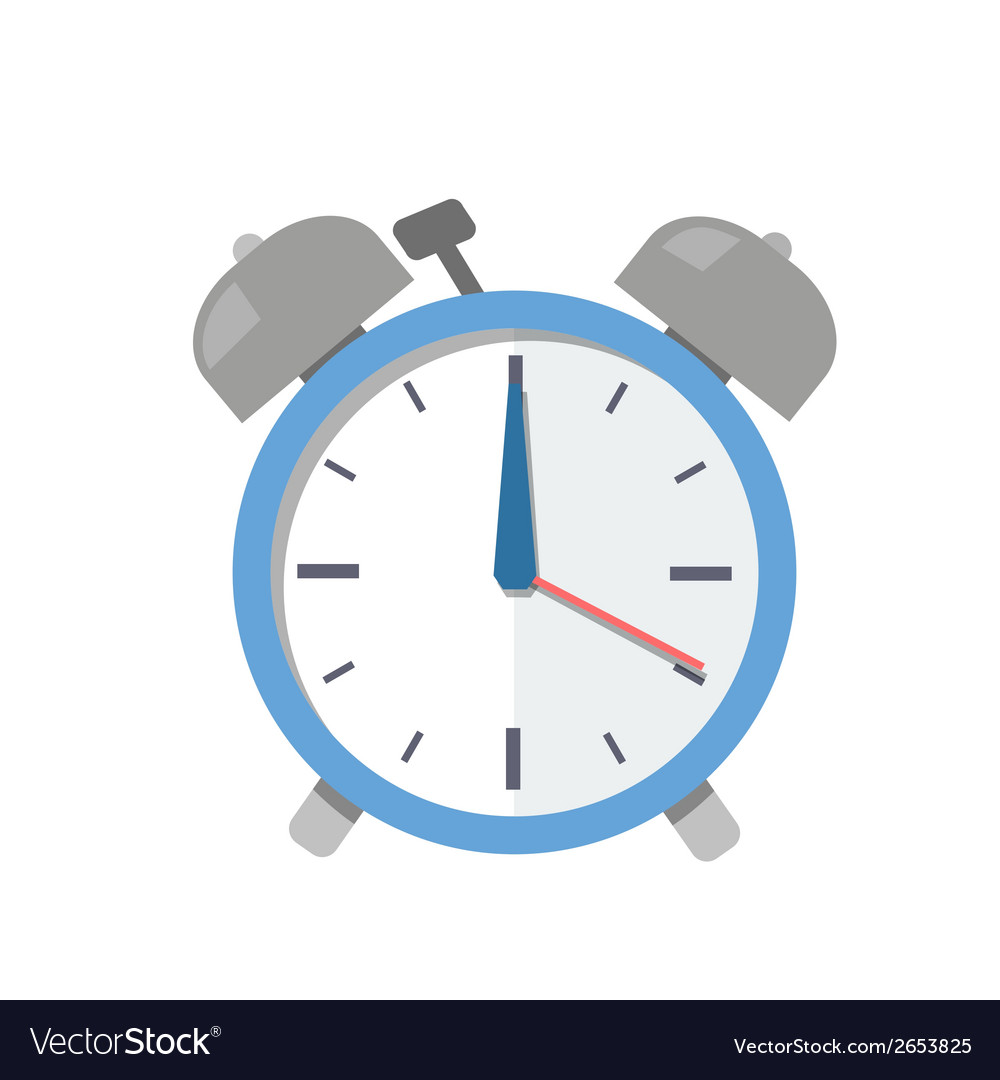 Alarm clock vector | Price: 1 Credit (USD $1)