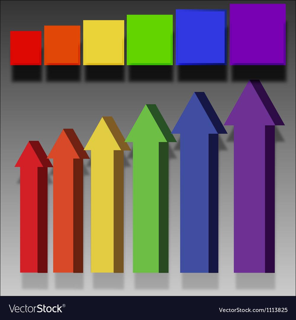 Arrows labels elements vector | Price: 1 Credit (USD $1)