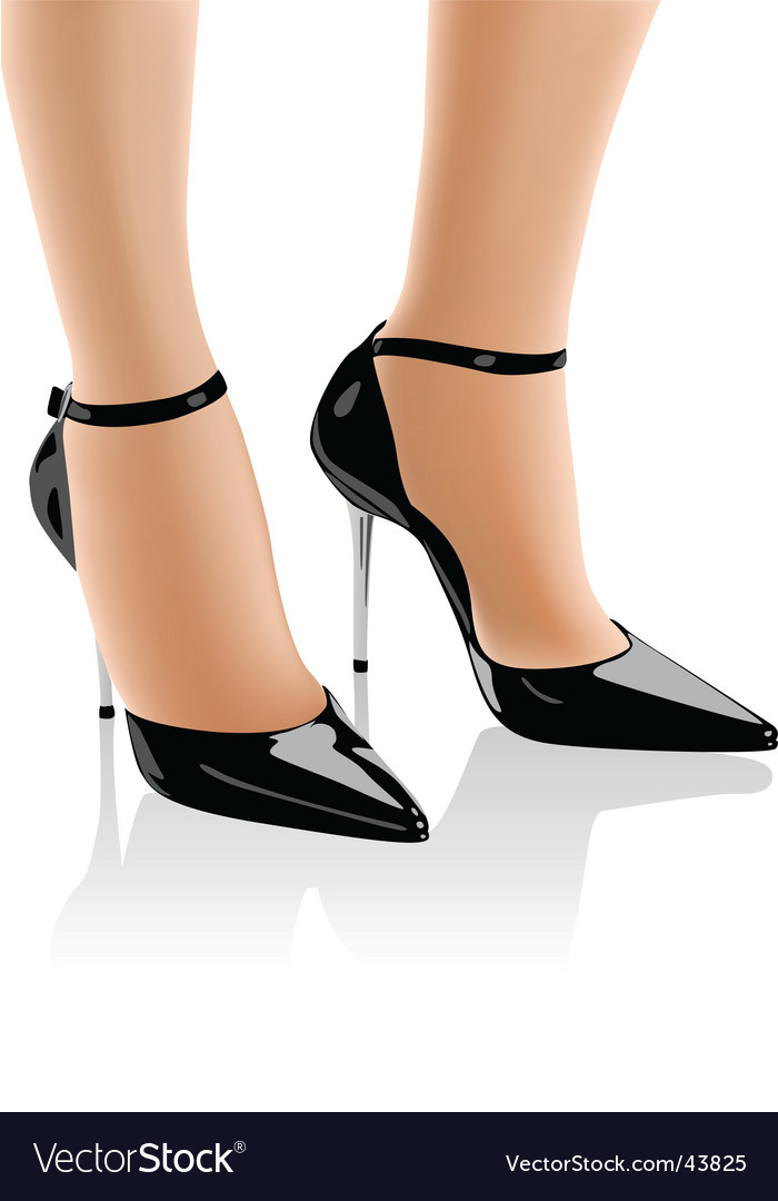 High heel shoes vector | Price: 1 Credit (USD $1)