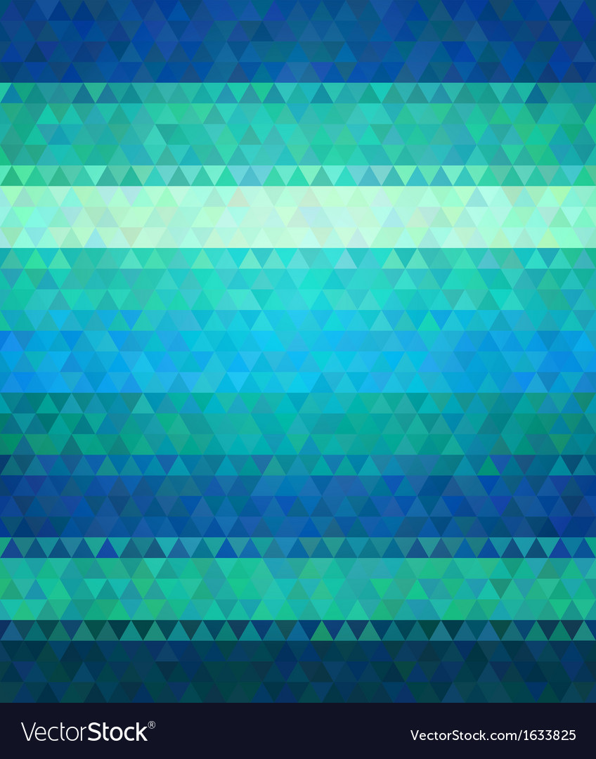 Modern flat style background cold green and blue vector | Price: 1 Credit (USD $1)