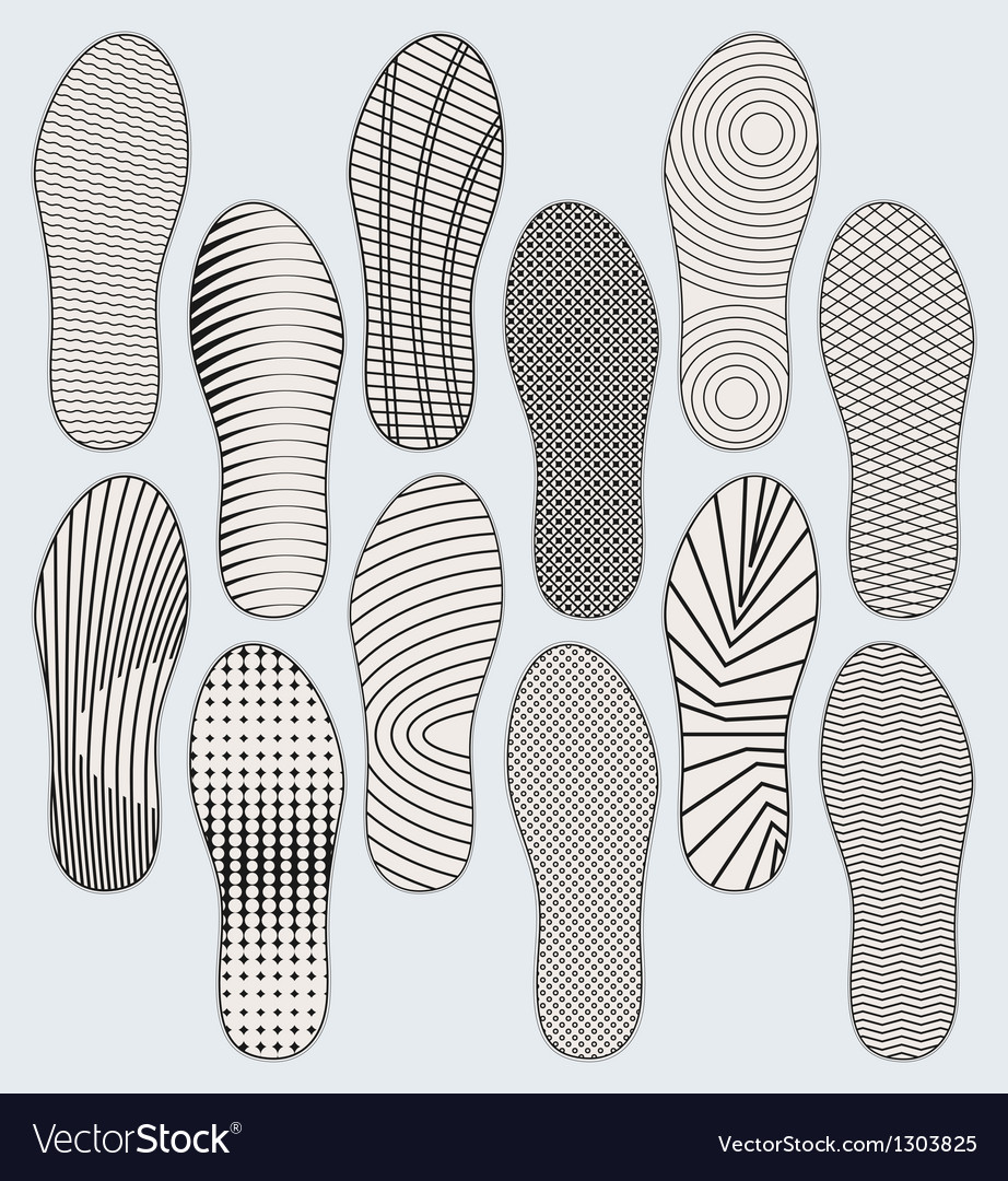Shoe soles vector | Price: 1 Credit (USD $1)