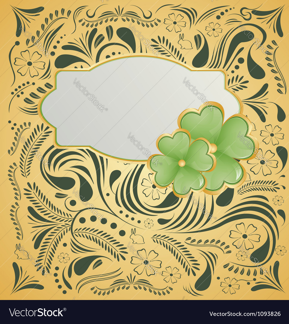 Background for st patrick day vector | Price: 1 Credit (USD $1)