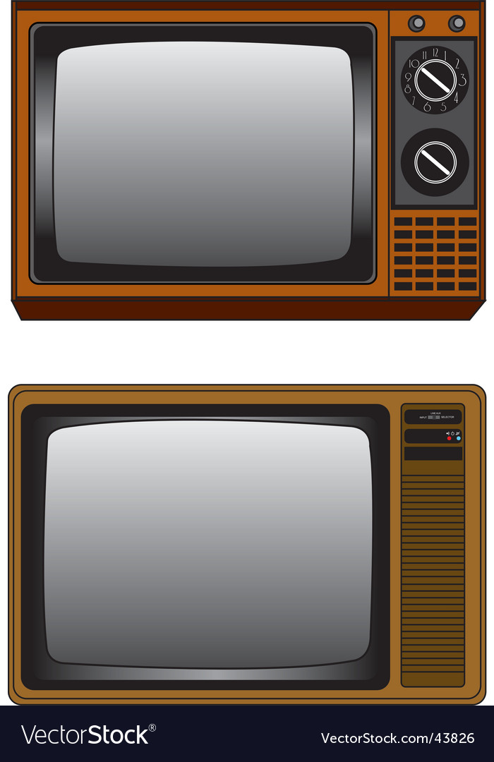Tv illustration vector | Price: 1 Credit (USD $1)