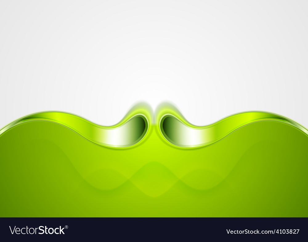 Abstract smooth bright wave background vector | Price: 1 Credit (USD $1)