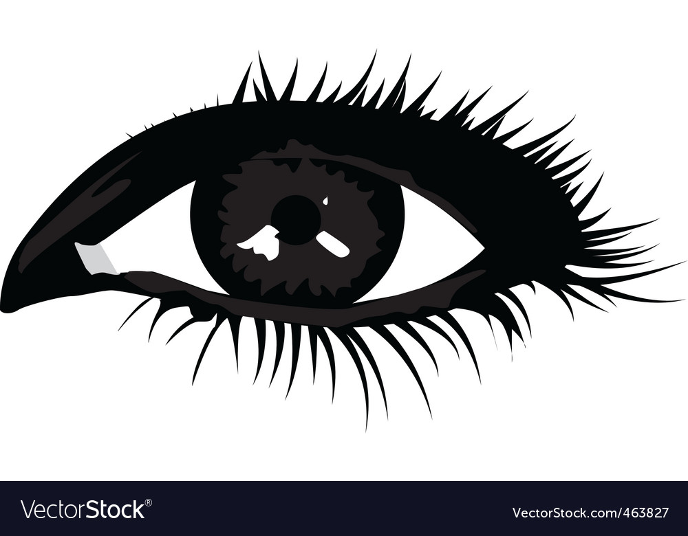 Smoky eye vector | Price: 1 Credit (USD $1)