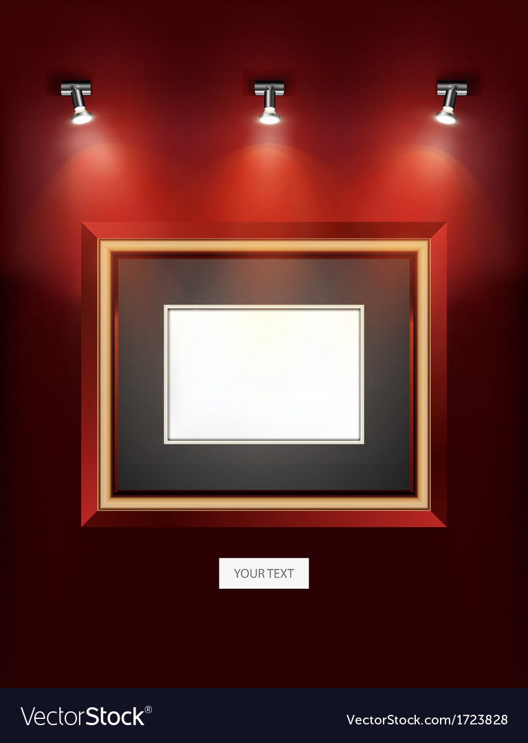Indoor wall decoration picture frame design vector | Price: 1 Credit (USD $1)