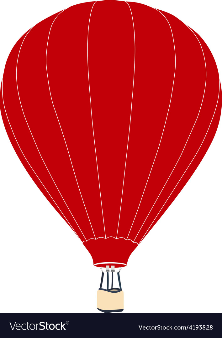 Red air balloon vector   Price: 1 Credit (USD $1)