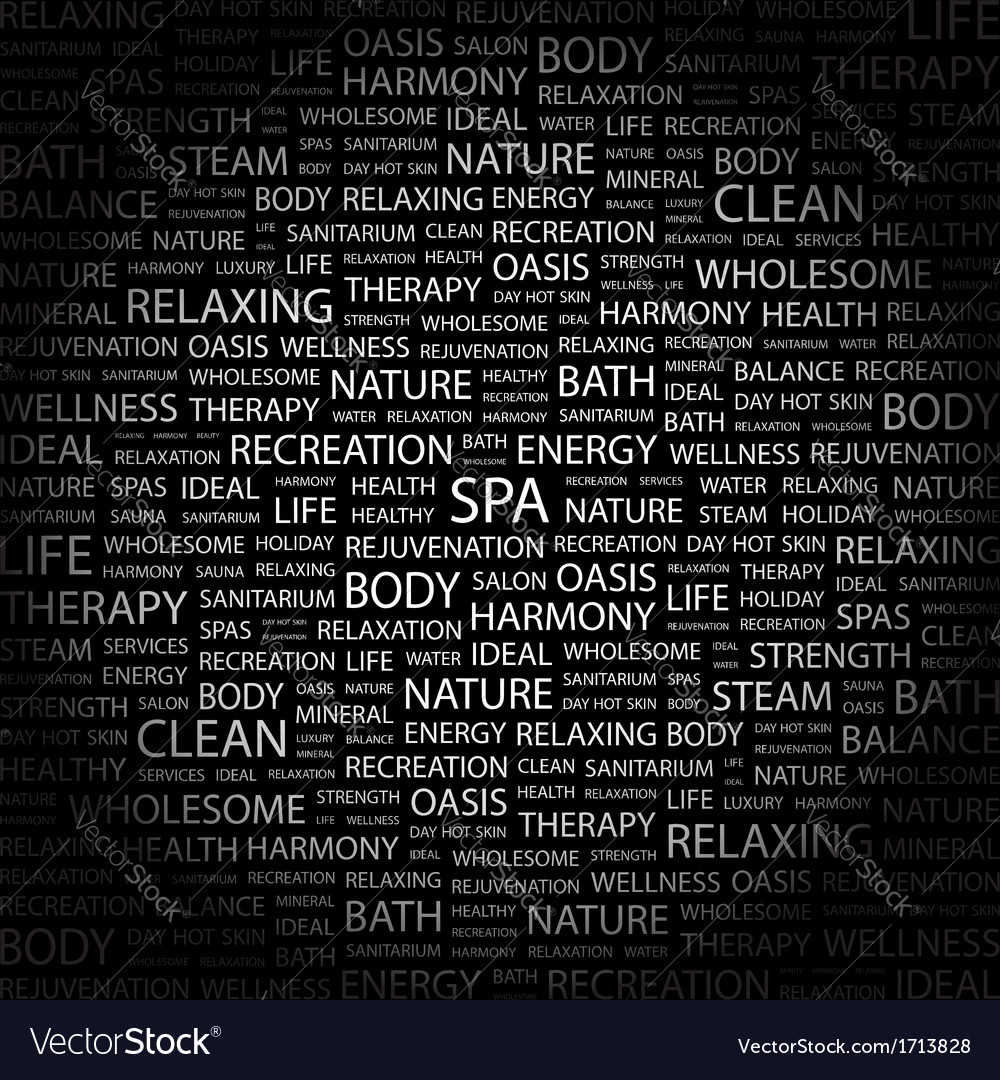 Spa vector | Price: 1 Credit (USD $1)