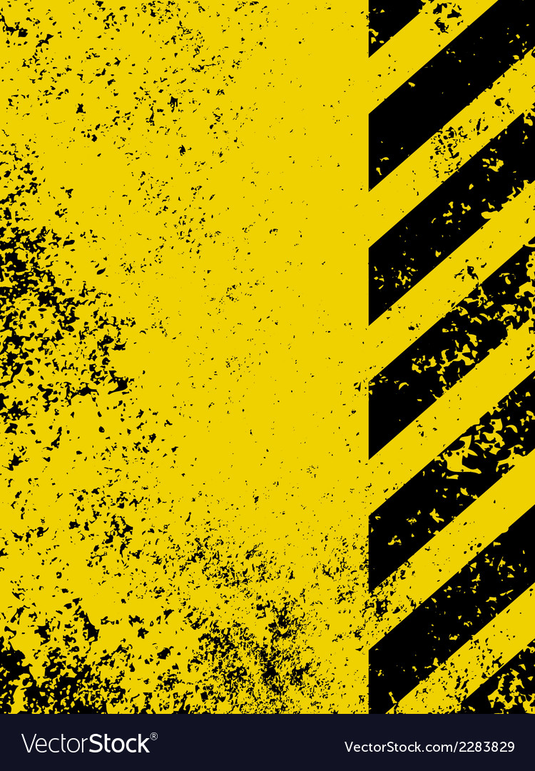 A grungy and worn hazard stripes texture eps 8 vector | Price: 1 Credit (USD $1)