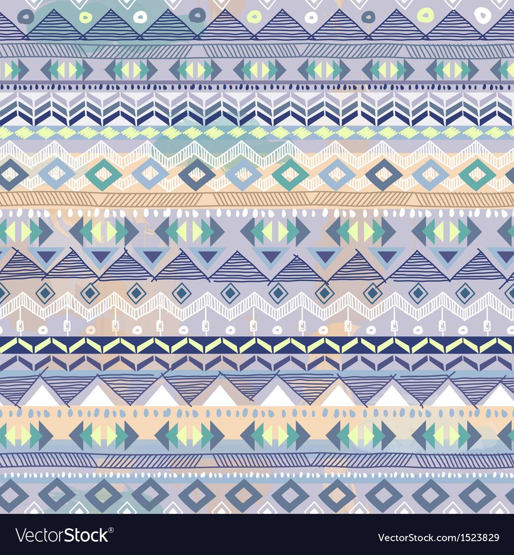 Blue pastel tribal stripe vector | Price: 1 Credit (USD $1)