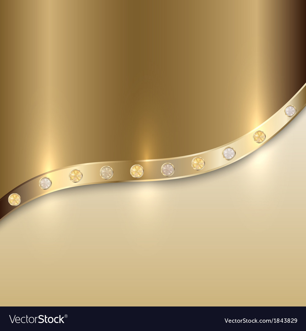 Golden texture background with curve and precious vector | Price: 1 Credit (USD $1)