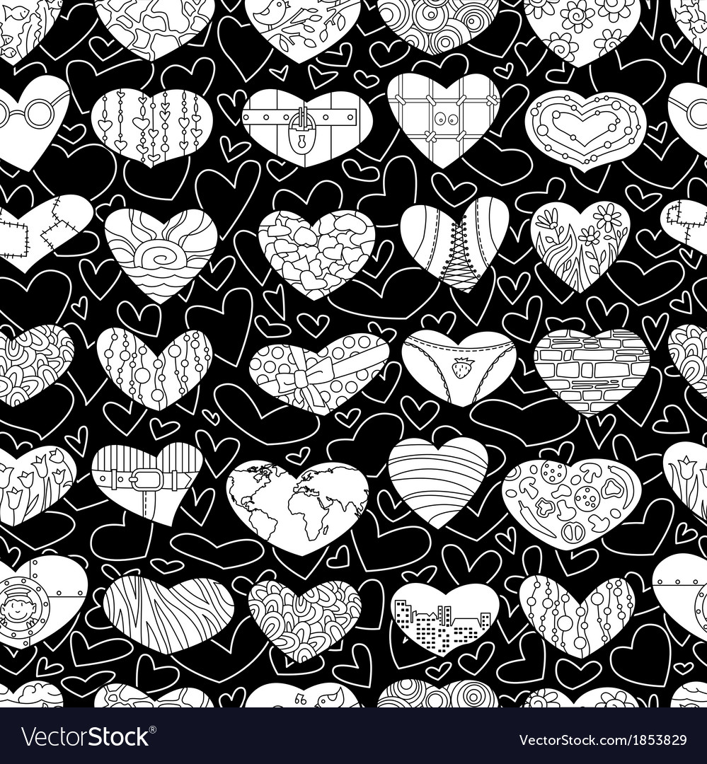 Valentines seamless vector | Price: 1 Credit (USD $1)