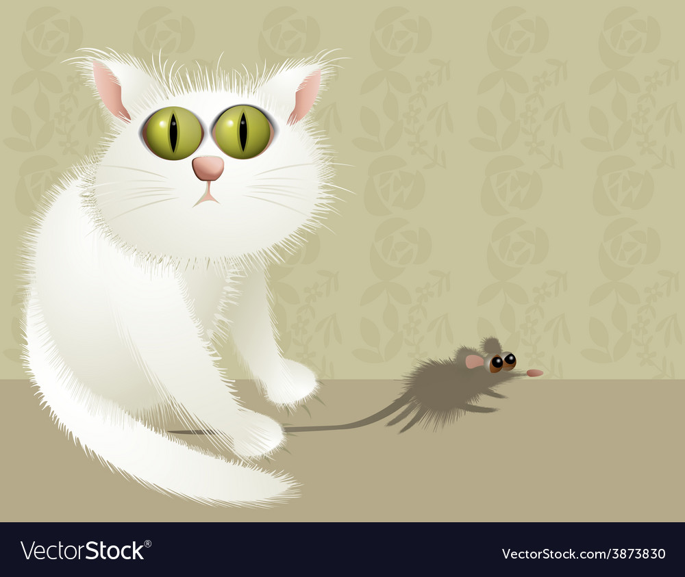 Cat hunter vector | Price: 3 Credit (USD $3)