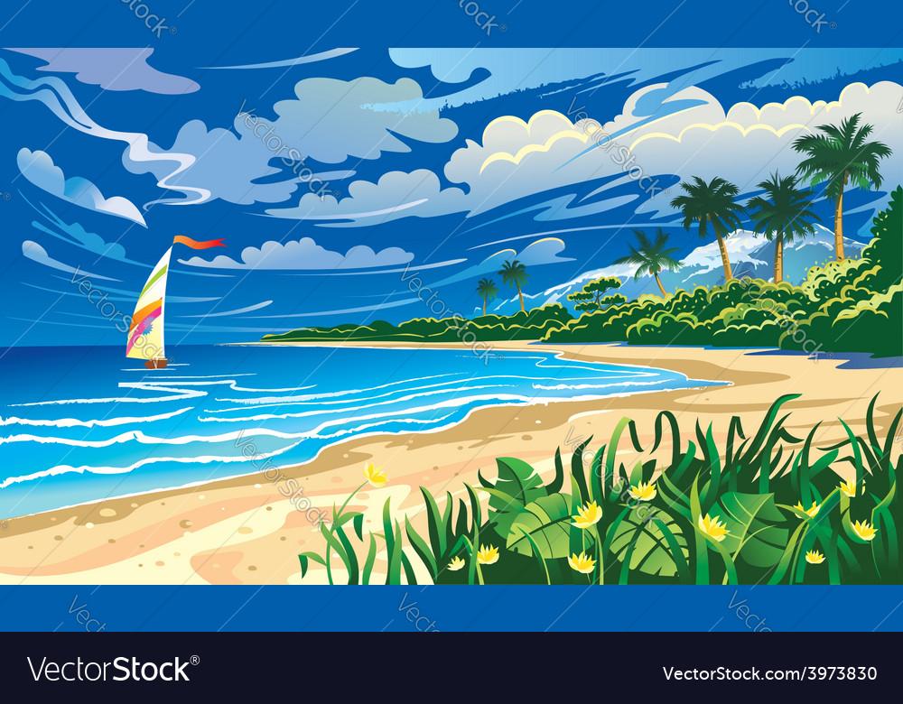 Landscape design vector | Price: 5 Credit (USD $5)