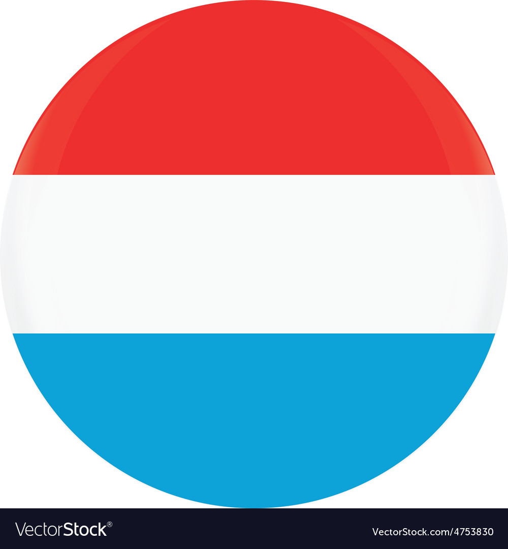 Luxembourg flag vector | Price: 1 Credit (USD $1)