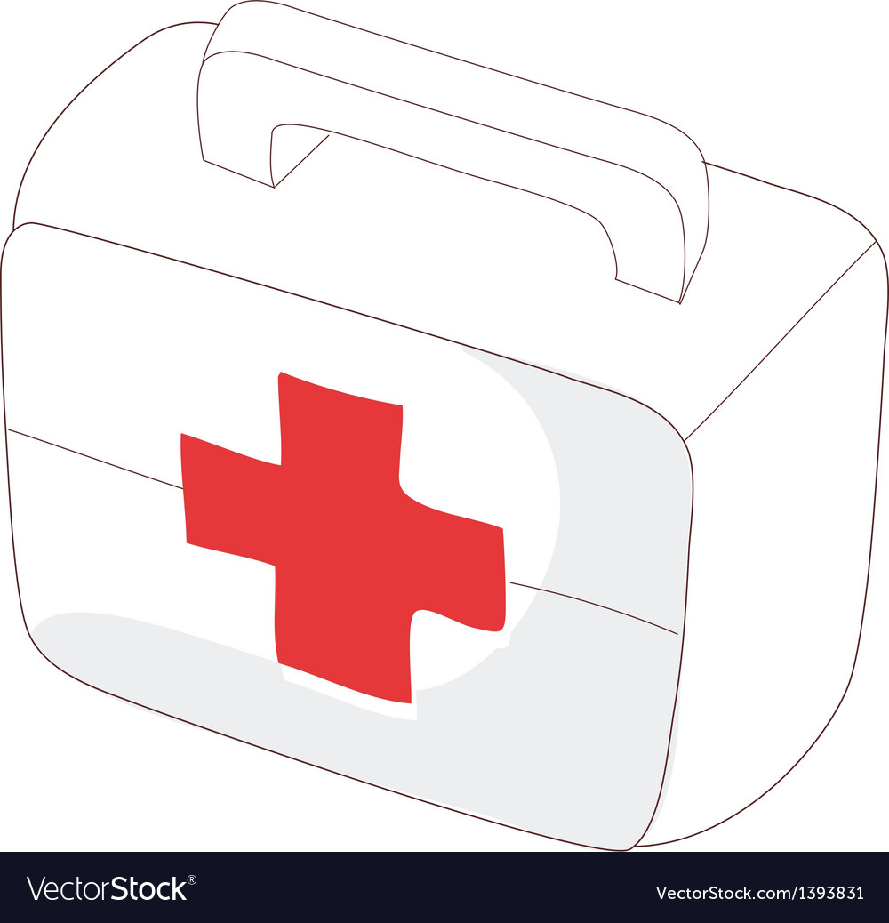 A medicine chest vector | Price: 1 Credit (USD $1)