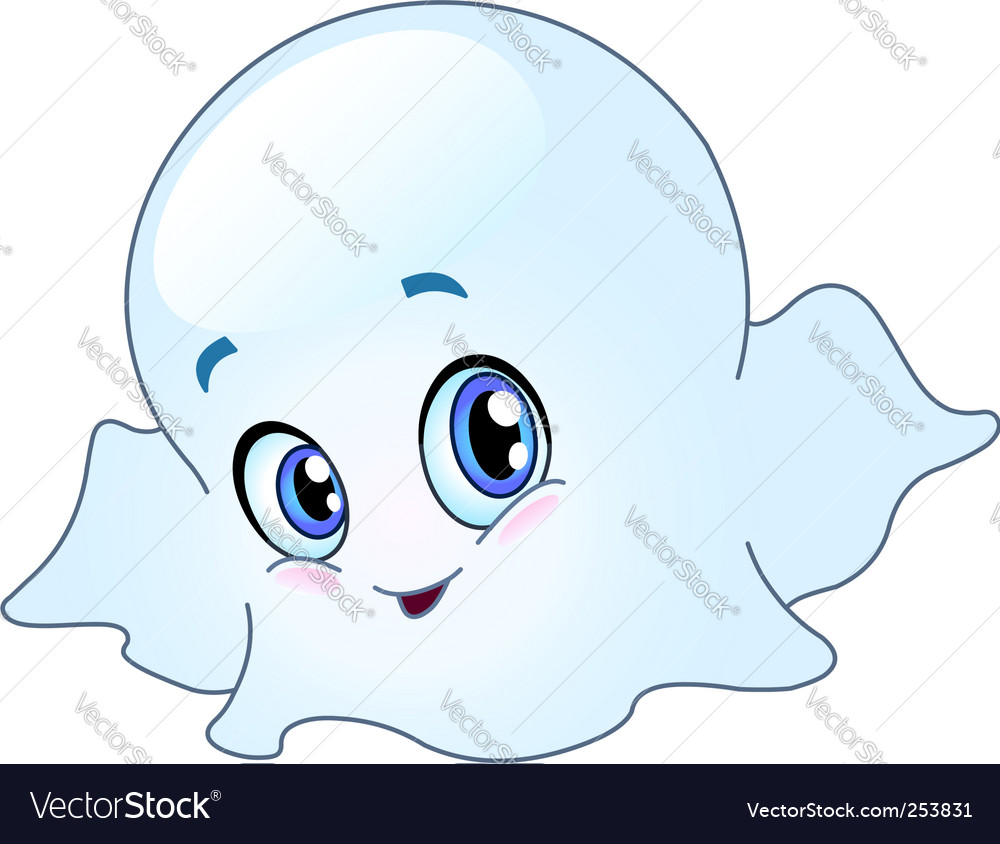 Baby ghost vector | Price: 1 Credit (USD $1)