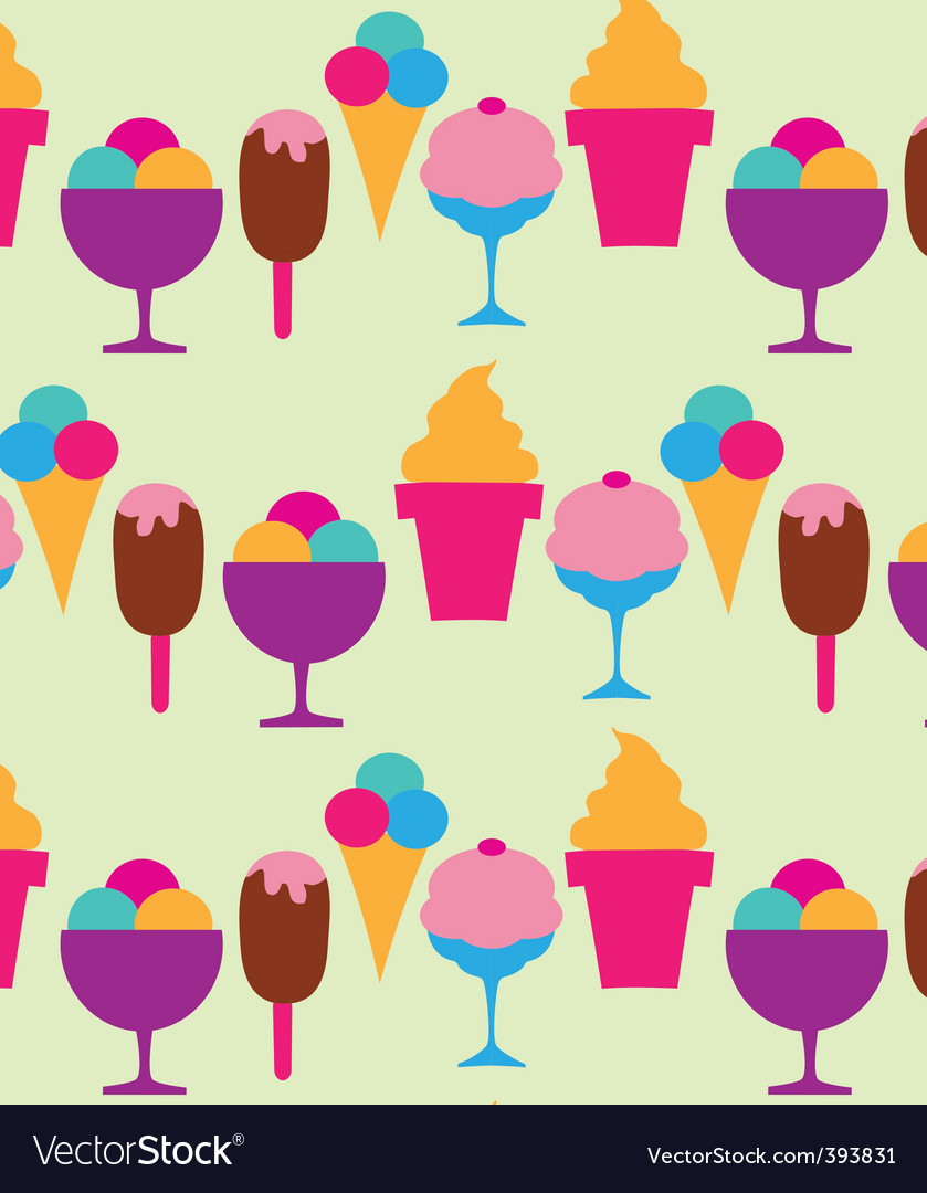 Ice cream and sundaes vector | Price: 1 Credit (USD $1)