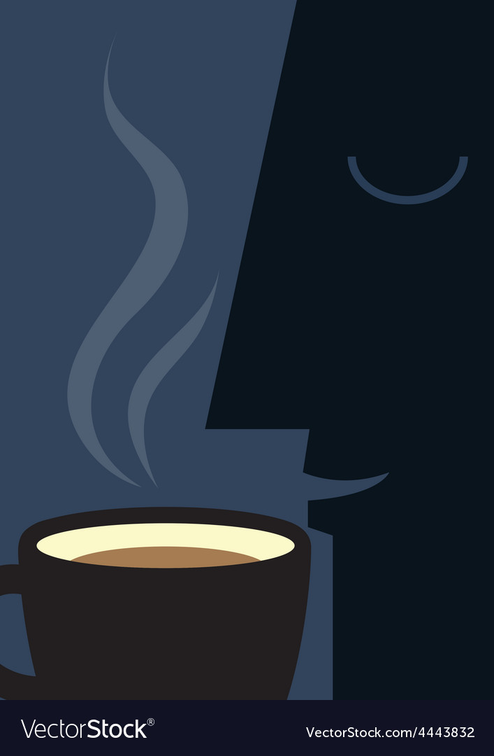 Coffee smell vector | Price: 1 Credit (USD $1)