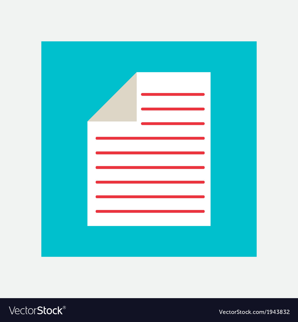 Documents icon vector | Price: 1 Credit (USD $1)