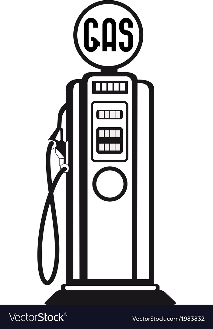 Gasoline pump vector | Price: 1 Credit (USD $1)