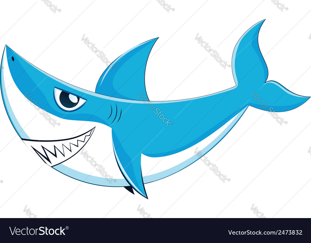 Great white shark3 vector | Price: 1 Credit (USD $1)