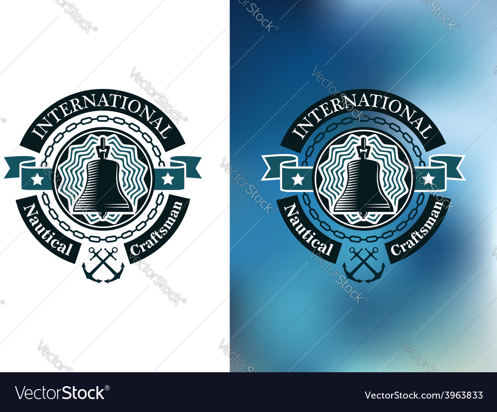 Creative banner for nautical craftsman vector | Price: 1 Credit (USD $1)